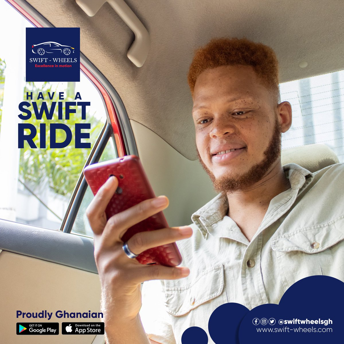 With swift wheels, you are a priority! An affiliate! You are family! Join the winning team! Download the swift wheels app from play store or app store and ride in comfort.  #ghana #accra #love #BBNaijialockdown2020   #ghanaian  #afrobeat #african #ghanaweddings #bhfyppic.twitter.com/bn3bUoBLKK