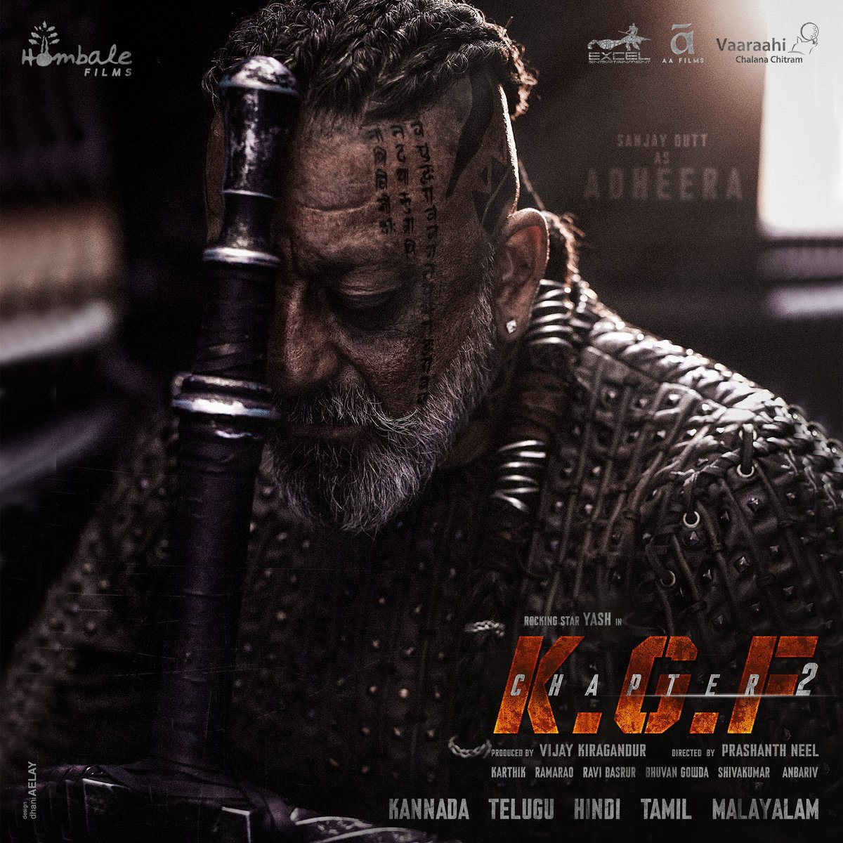 Many many happy returns of the day to my big bro @duttsanjay! Totally loved the first look of #Adheera! Lightning strikes⚡You're killing it as always! More power to you! Much love! #KGFChapter2 #HappyBirthdaySanjayDutt
