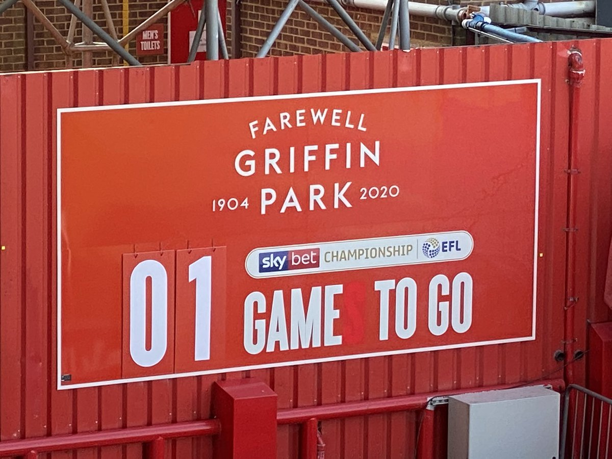 Live on @talkSPORT - the Griffin Park farewell. 1 game to go here... but one more next week at Wembley for either Brentford or Swansea #BRESWA https://t.co/LFoSMc5H3S
