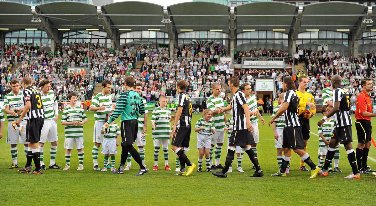 10 years ago today.... @ShamrockRovers 🤝 @juventusfcen @EuropaLeague