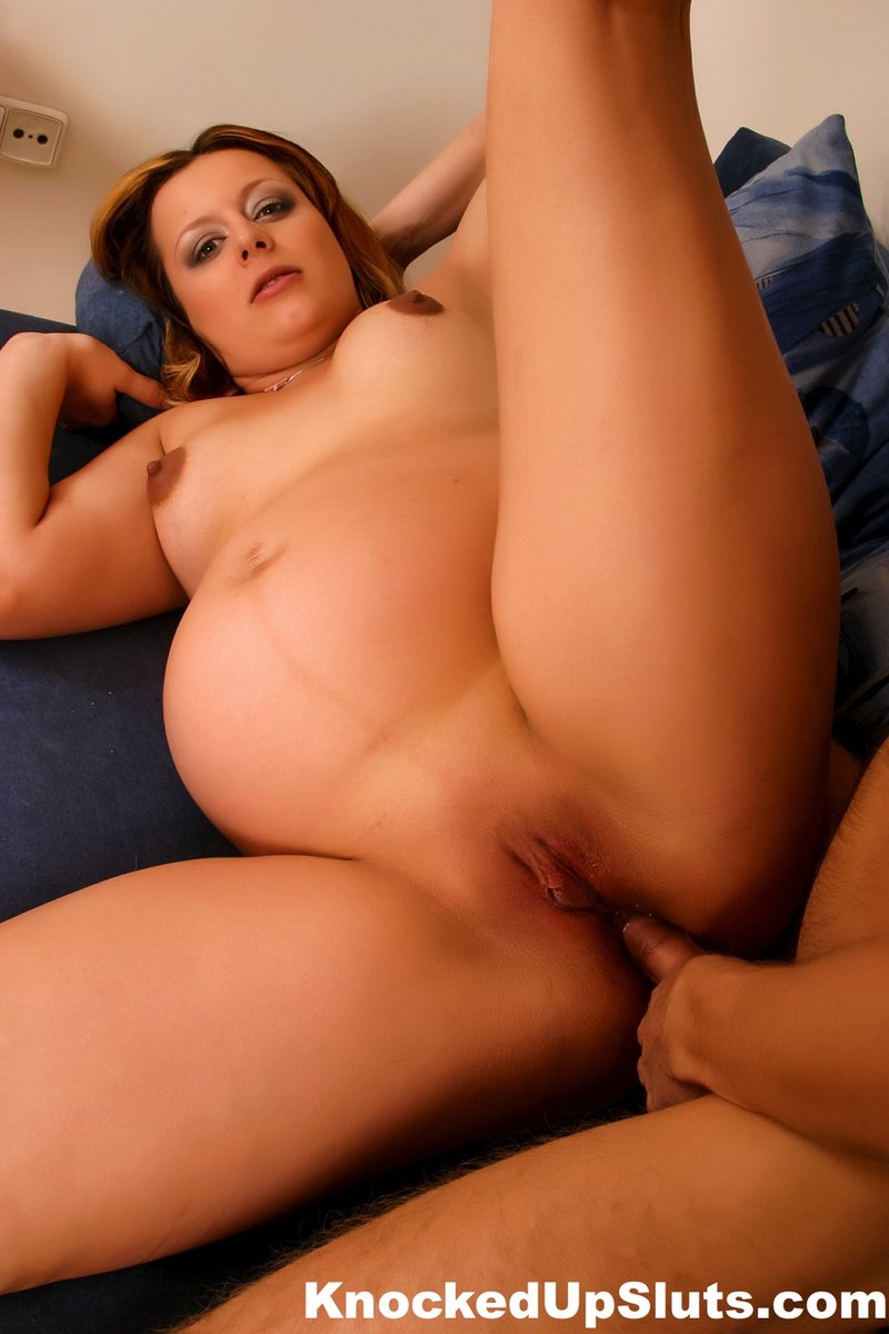 Anal sex with pregnant cast