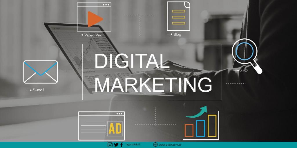 O que é marketing digital? Entenda e veja dicas para aplicar na empresa - Saiba mais.... https://bit.ly/30Pi59z #marketingdigital #mktdigital #ecommerce #marketingonline #socialmediamarketing #digitalmarketing #layartagênciadigitalpic.twitter.com/R8zTIP4bQq