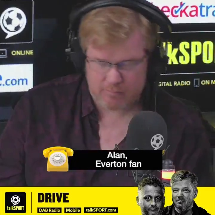 """""""What does my head in, is everyone goes, 'We spent £130 million in the summer.'"""" 💰  """"Ancelotti didn't spend £130m! Ancelotti hasn't signed a player yet."""" ❌  """"I don't think you can judge him, until we have HIS team.""""   Really good call from #EFC fan Alan on @talkSPORTDrive. 👏 https://t.co/cp6gZPDM76"""