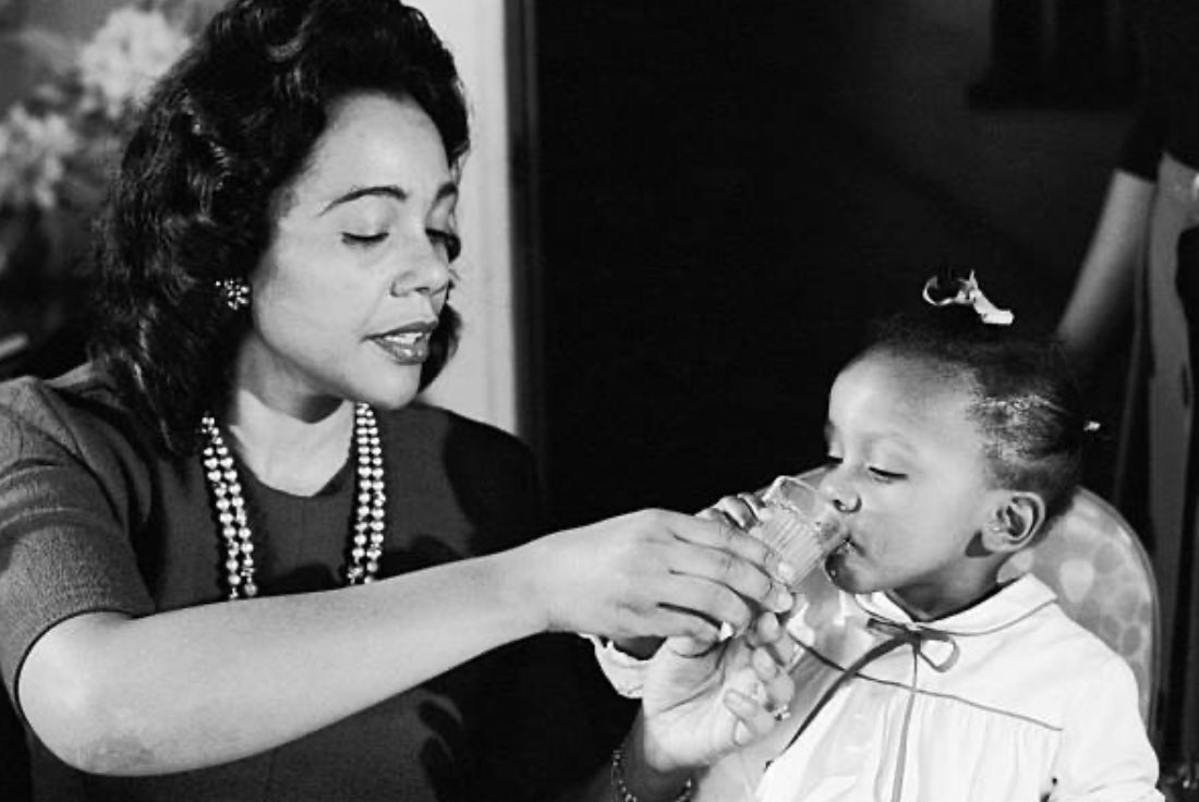 Thinking about my mother. Sometimes, I'm just thinking about my mother. 🖤 #CorettaScottKing
