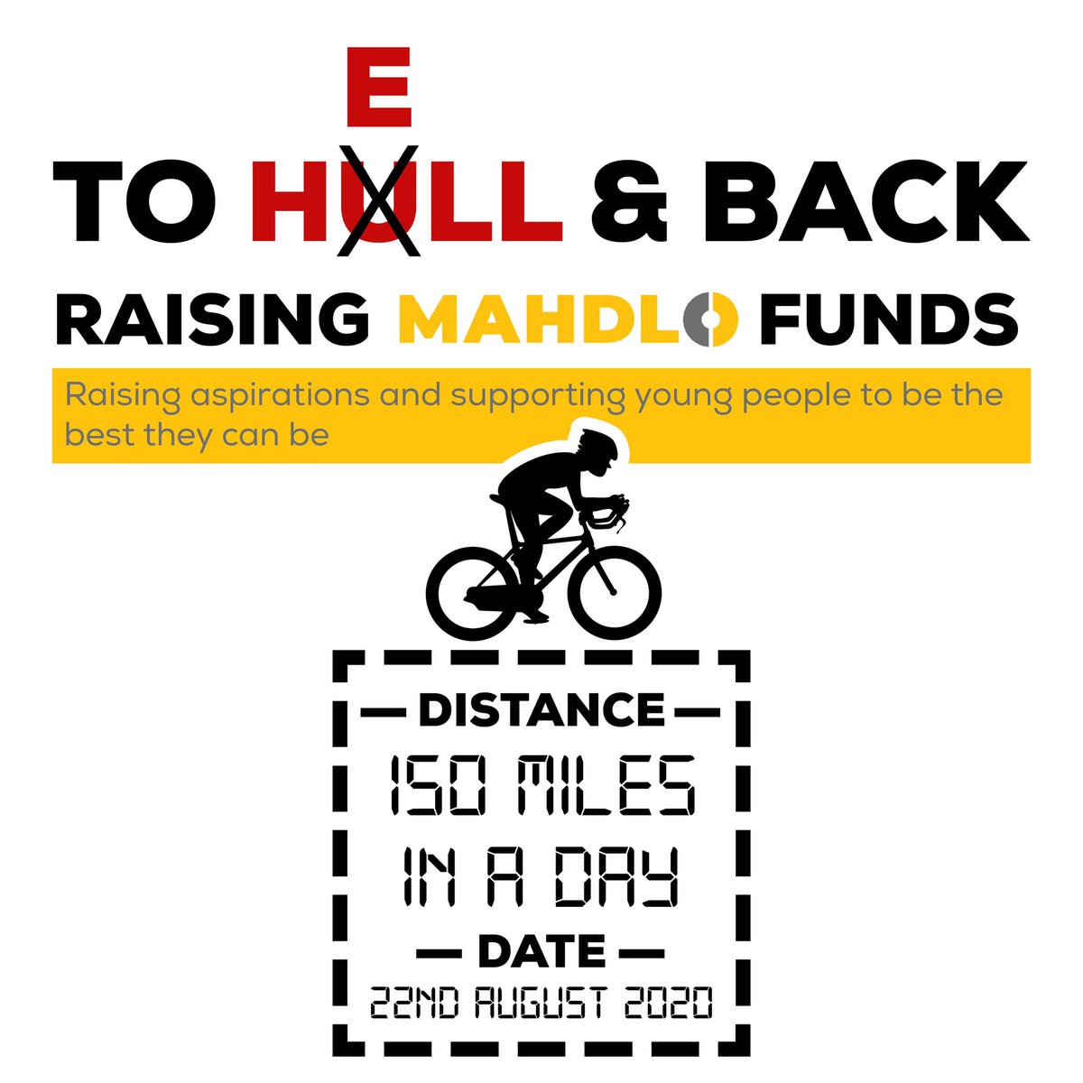 Hes never biked more than 30 miles before so this is going to be some challenge! 🤩 @Travelbaggins is putting two wheels to good use this August, cycling 150 miles in ONE DAY, to Hull and back, all to raise vital funds for Mahdlo! Support Jonathan ➡️ uk.virginmoneygiving.com/JonathanLloyd22