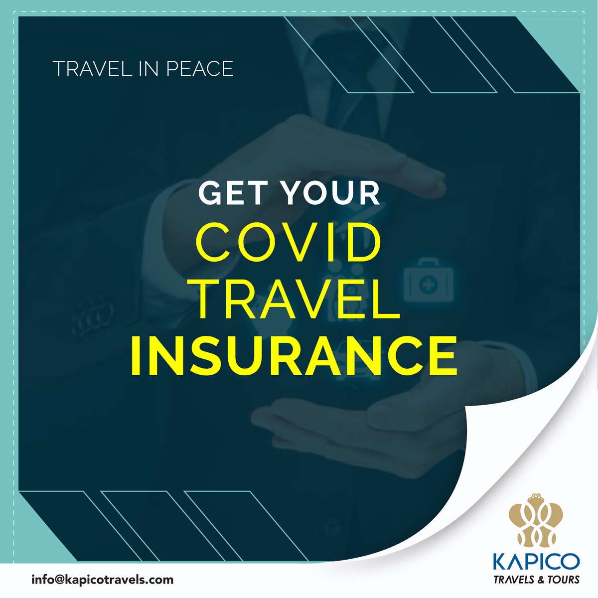 Looking for Travel insurance that covers #covid19? We are here to assist you.  Contact us at: Info@kapicotravels.com    هل تبحث عن تأمين سفر يغطي # covid19؟ نحن هنا لمساعدتكم. اتصل بنا على:  Info@kapicotravels.com  #kapico #kapicotravels #covid19travelinsurance #travelinsurance https://t.co/Y0DxYt6d2N