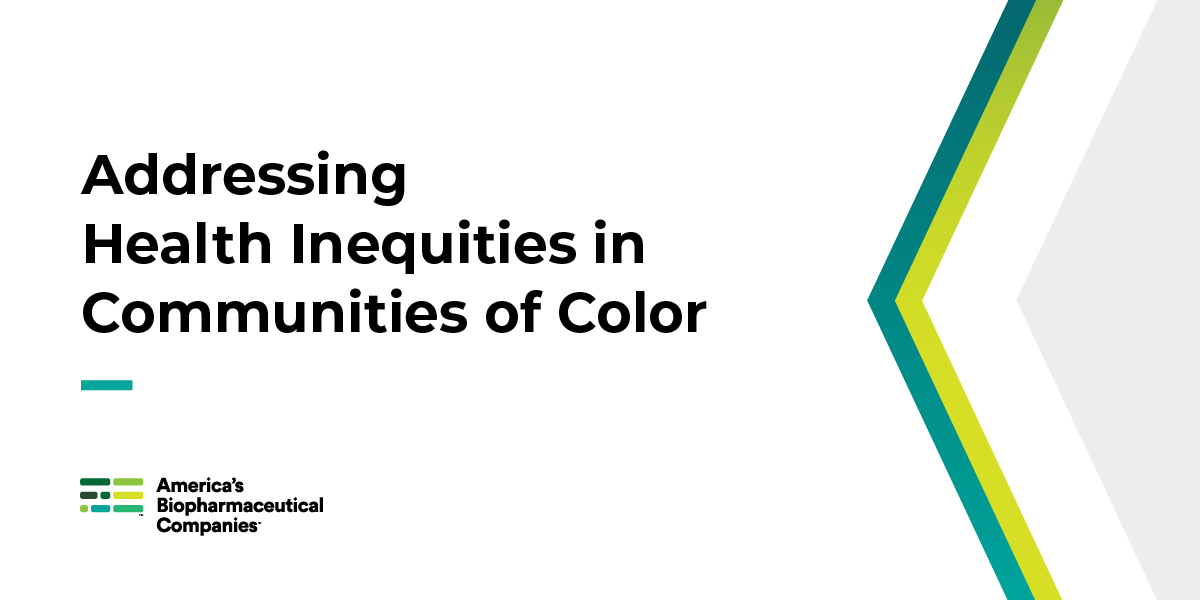 The disproportionate impact of #COVID19 on communities of color is just one health-related disparity in the United States that America's biopharmaceutical companies are working to address. Learn more at https://t.co/0bKNFZpMAy https://t.co/XldP5vABNY