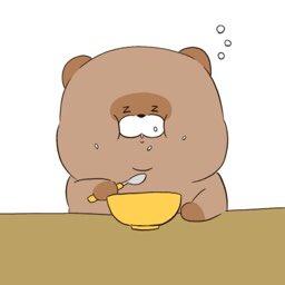 Uzivatel まーべら Na Twitteru 眠気vs食欲 イラスト ぽんこつ山のたぬきさん