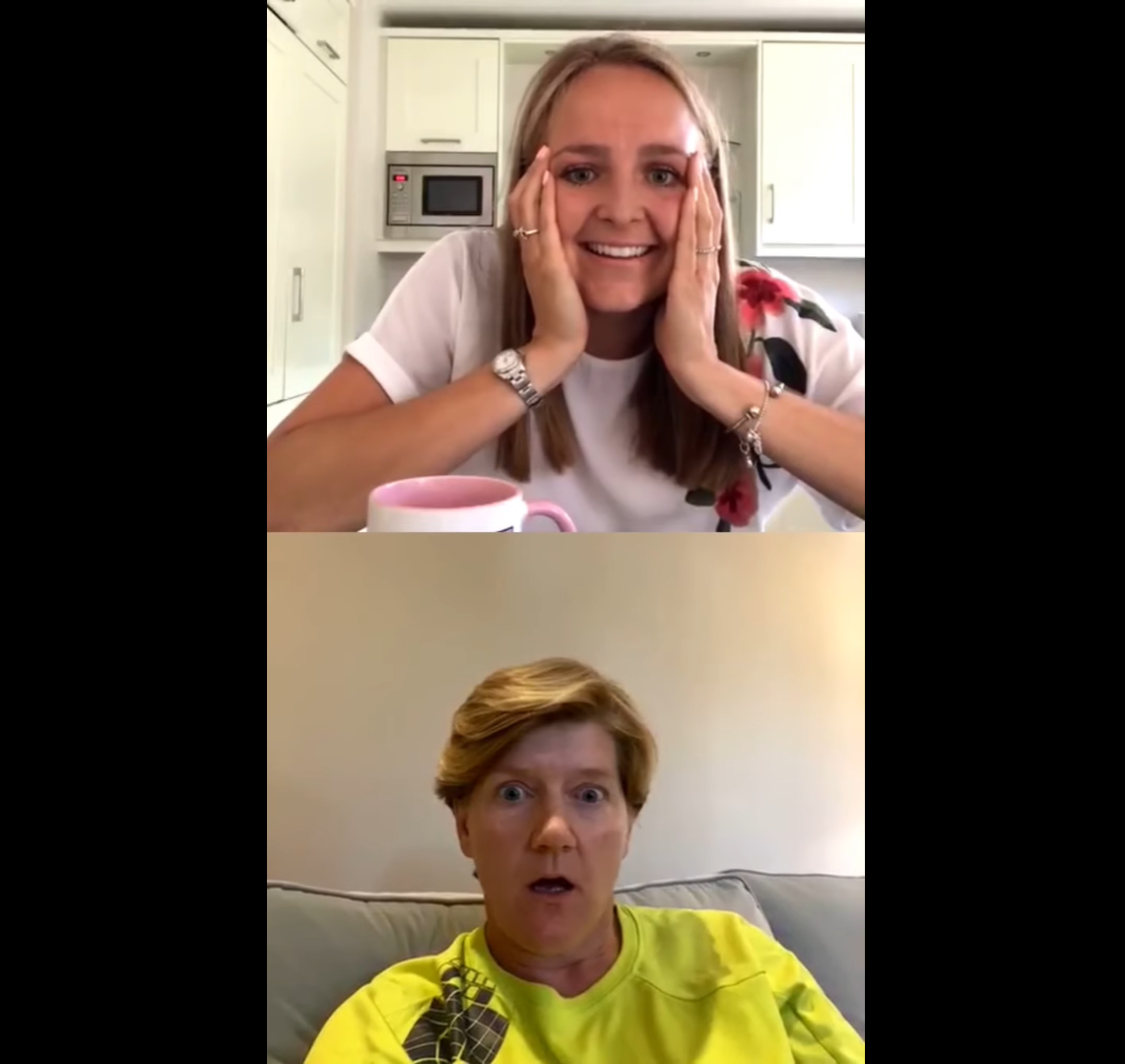 Its been a question on everyones mind since the infamous 2016 #SPOTY... How exactly did @clarebalding become an honorary member of our womens hockey team? 🤔 Find out by watching the latest episode of #CuppaNNatter with @EmilyDefroand 🍵 📹 bit.ly/3f8x7w7