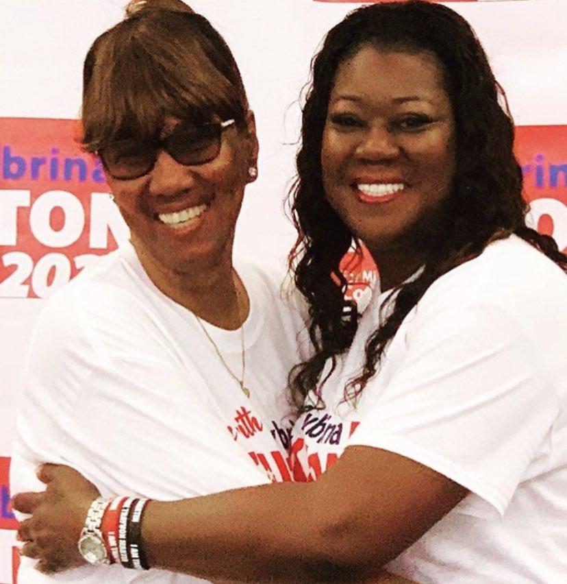 My biggest fan is my Beautiful Mom #TeamSybrinaFulton #PositiveVibesOnly #MothersOfTheMovement #FamilyFirst SybrinaFulton.com