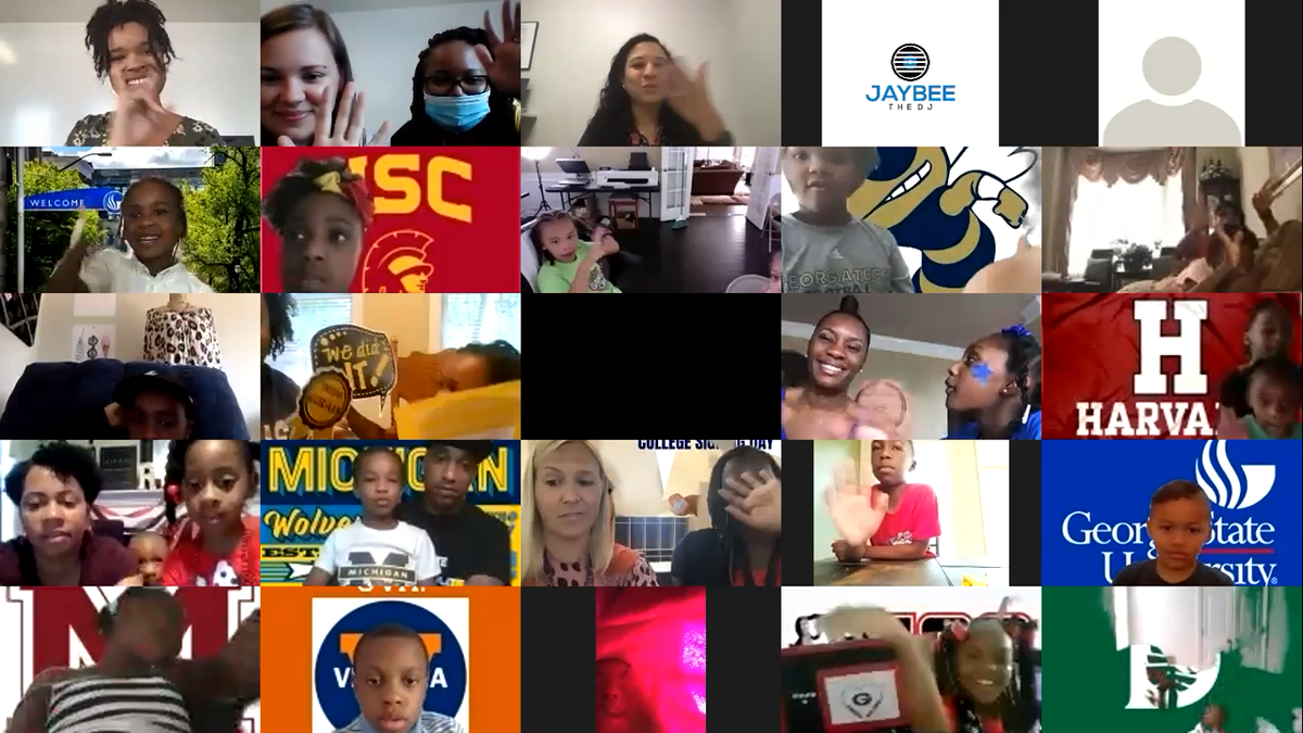 Hand raise if you were in attendance at virtual College Signing Day?!🎉 We had so much fun virtually welcoming everyone to the start of an AMAZING school year ahead 😍 Don't believe us? Just take a look! ❤️ #rhlife #resurgencehall #collegesigningday #joy https://t.co/qlTsjKjUjj