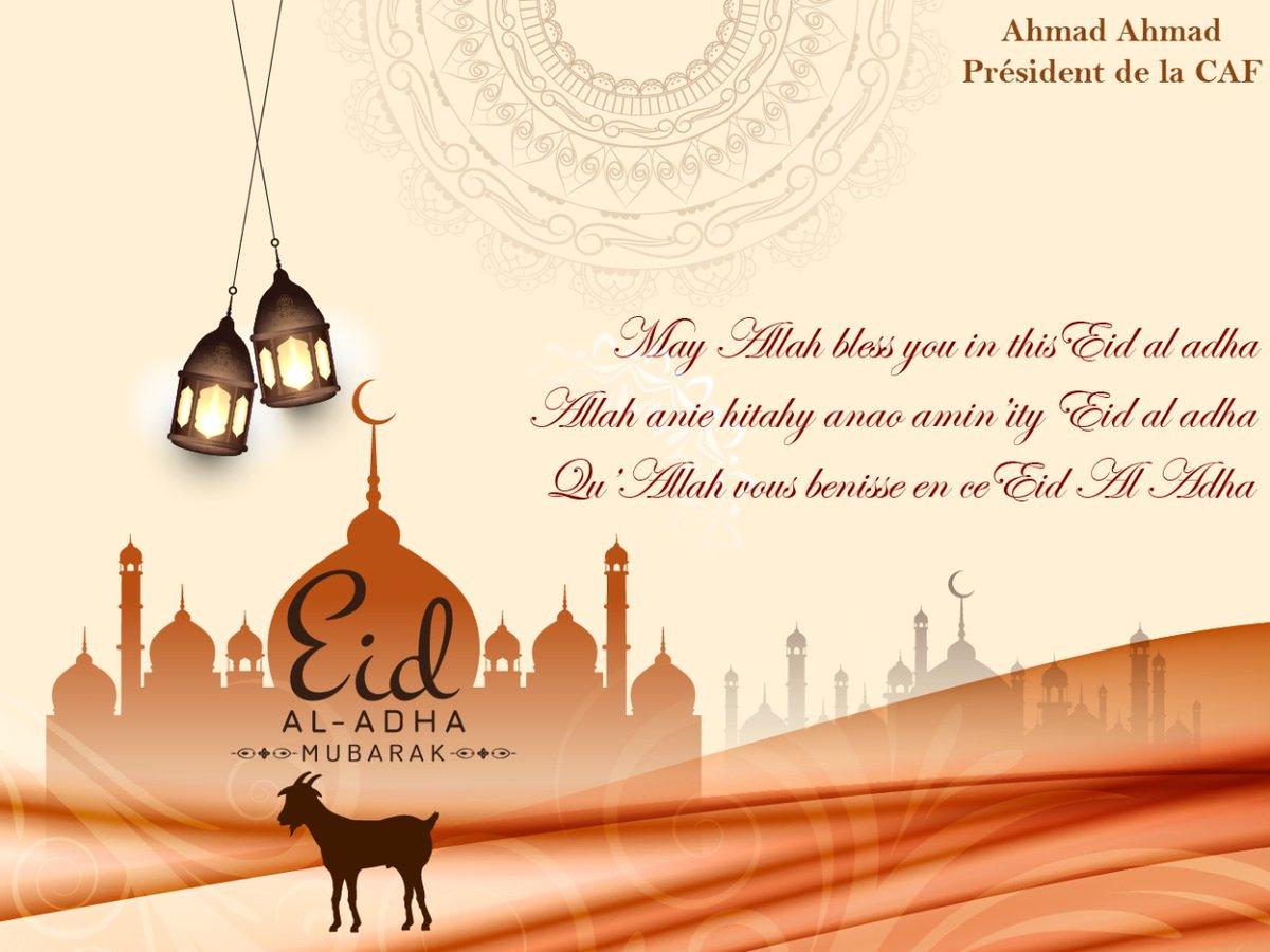 Bonne fête de l#EidAlAdha à tous !
