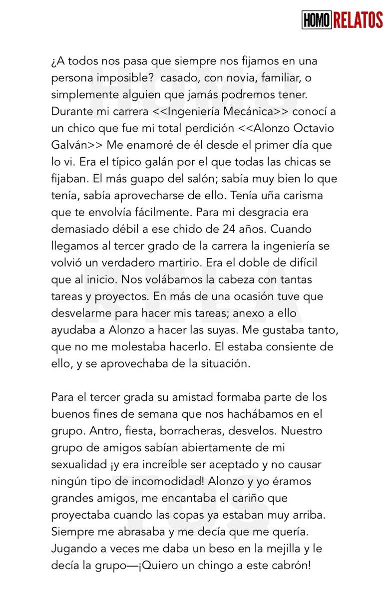 EL PROYECTO DE ALONZO/ parte 1 RT para parte 2 my.w.tt/snGjJZFew8 #homorelatos #relatogay #relatoerótico #Relato #relatoseróticos