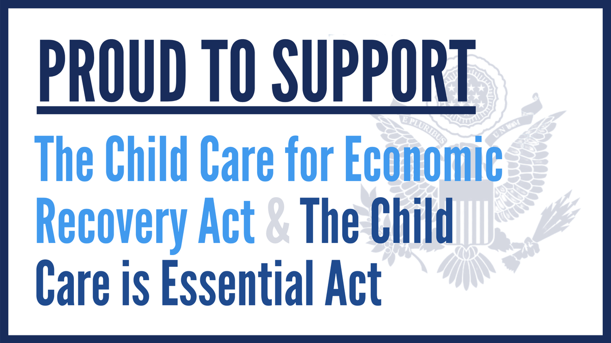 Today we have the opportunity to help Americans overcome one of these hurdles to work, by supporting meaningful child care relief.