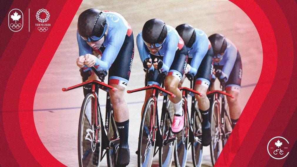 Communiqué : Cyclisme Canada nomme la plus importante équipe de cyclisme sur piste de l'histoire olympique canadienne : https://t.co/im4YmHYEiR https://t.co/kvC4c8qPyS