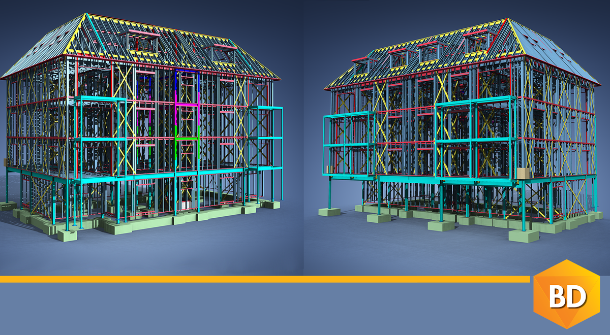 Spending hours and hours on repetitive design tasks? We have the perfect solution for you; #VertexBD for Cold-Formed Steel/Light Gauge Steel! Learn about its amazing features: https://bit.ly/2MOn3hu .  #BIM #SteelFraming #prefab #modular #buildingdesignsoftware #constructionpic.twitter.com/6oQ31XIwZN