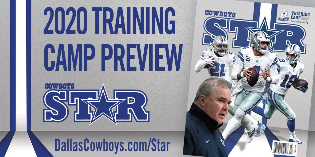 #CowboysNation🗣Its time to get ready for the 2020 season with the official @DCStarMagazine Training Camp Preview!🏈 Get the digital issue for only $4.95! 🔗bit.ly/30XzkFN