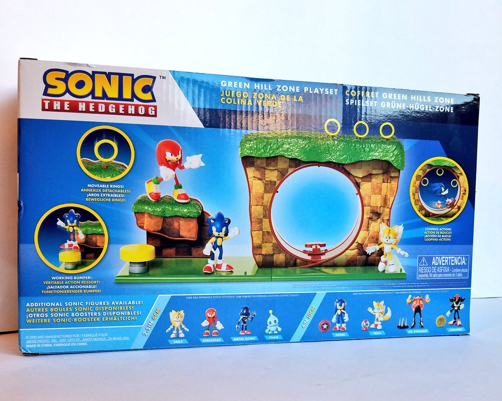 Linkabel On Twitter The Playset Came With A Small Sonic Figure 3 Rings And A Spring What S Cool Is That You Can Use The Playset For Other Past Figures As Well As