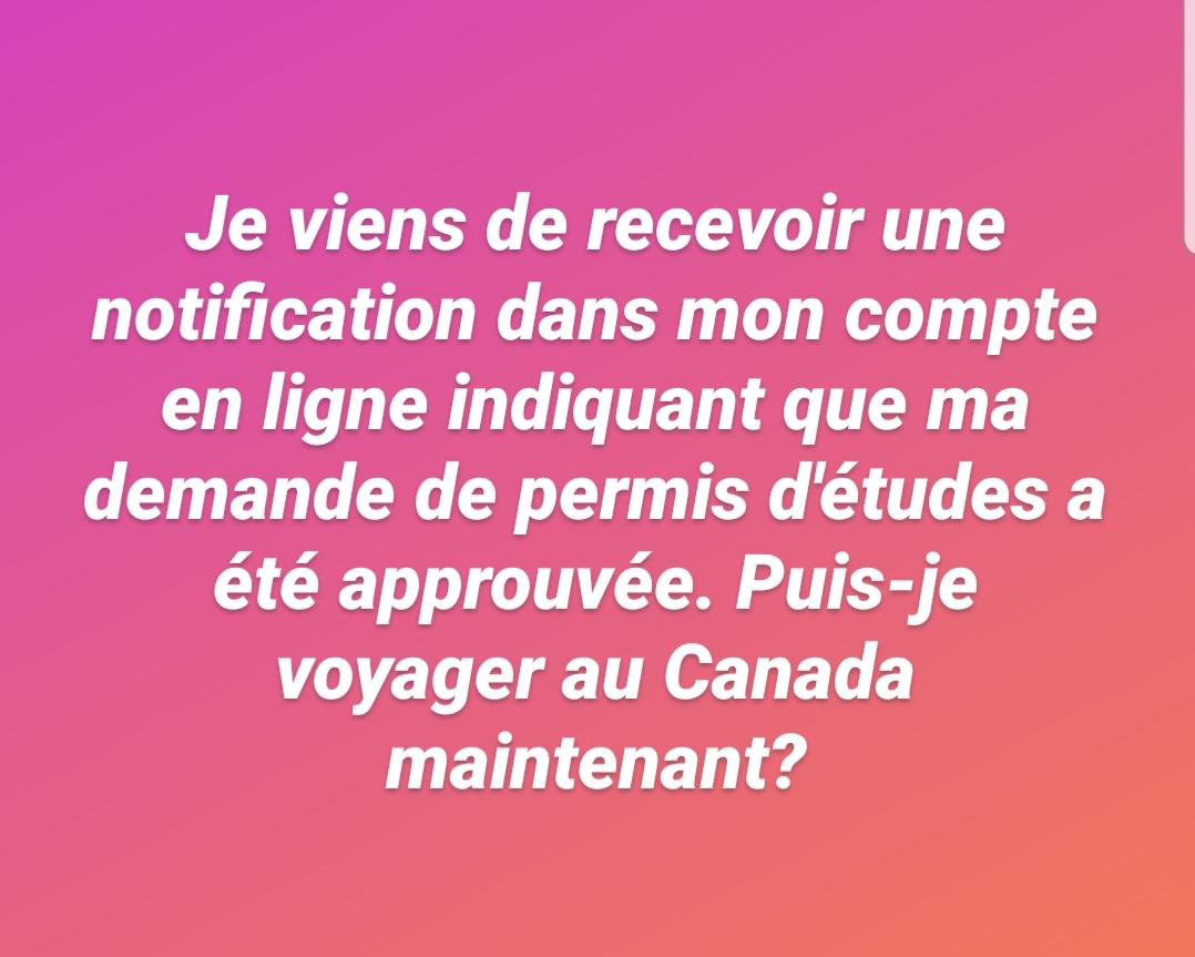 Les restrictions de voyage pour le Canada demeurent en vigueur et la plupart des étudiants ne peuvent toujours pas entrer au Canada, même s'ils reçoivent une approbation sur leur demande de permis d'études. ⬇️ https://t.co/MBEVpXqnFg