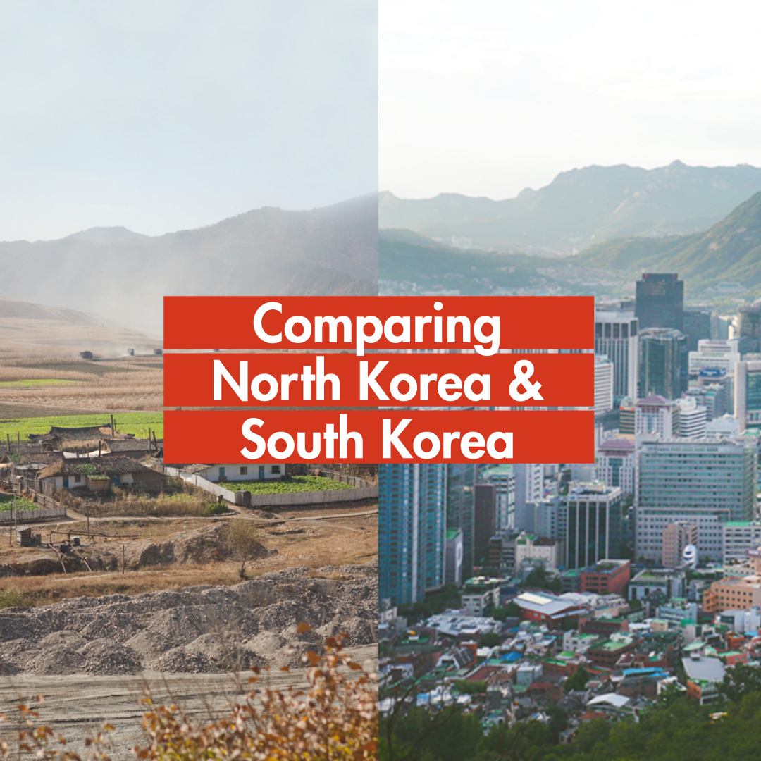 Swipe through  to see how over 60 years of separation set apart #NorthKorea and #SouthKorea, from life expectancy to religion. pic.twitter.com/Gw2PMwvJvR