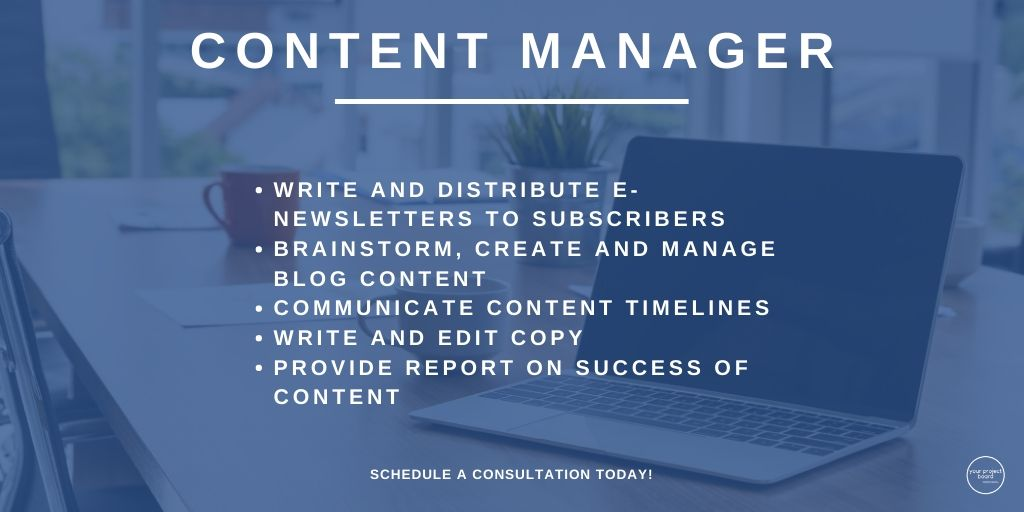 Content Manager is another one of the positions we have at YPB. Click the link in our bio to schedule your consultation or book an content manager!  #yourprojectbrd #yourprojectboard #virtualassistant #administrativeassistance #businesshabits #entrepreneurship #contentmanagerpic.twitter.com/sBQ1FPGTN2