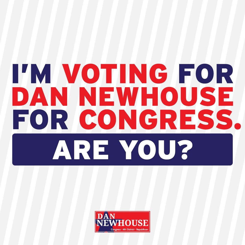 RT if you are voting for Dan Newhouse for Congress in #WA04 https://t.co/hWlbEGEUAG