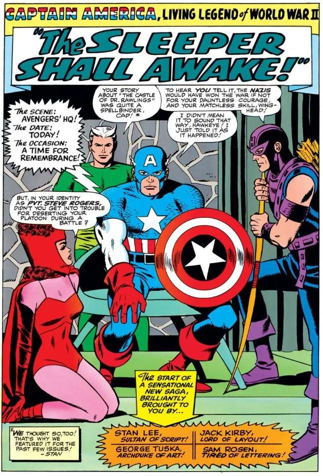 #captainamerica #scarlettwitch #quicksilver #hawkeye #avengers #jackkirby #georgetuskapic.twitter.com/w19nbJ5bER
