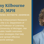 Image for the Tweet beginning: Dr. Amy Kilbourne, Director of