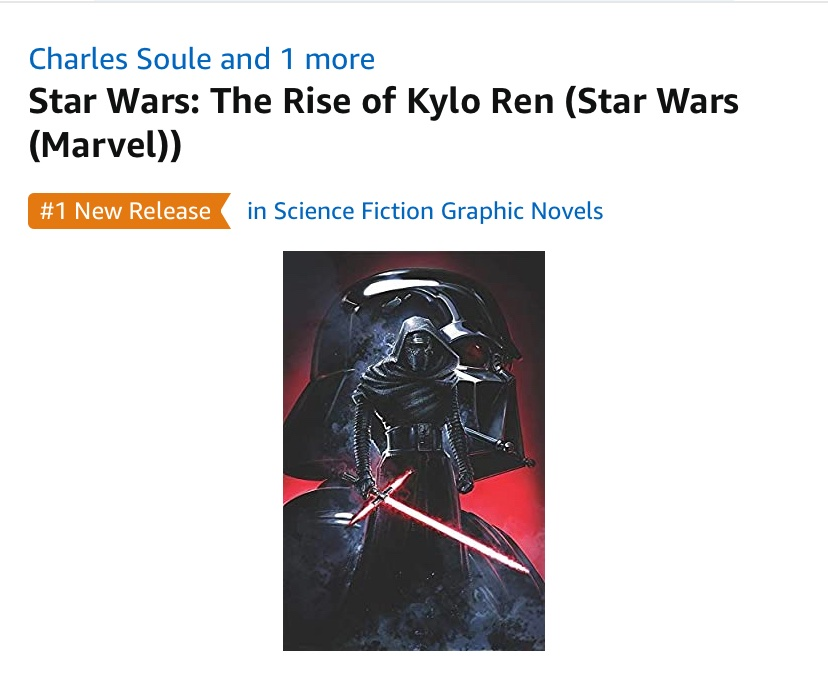 Charles Soule On Twitter Excited To Finally Have Rise Of Kylo Ren The Full Book In The World Even More Pleased To See It Getting So Much Support You Can