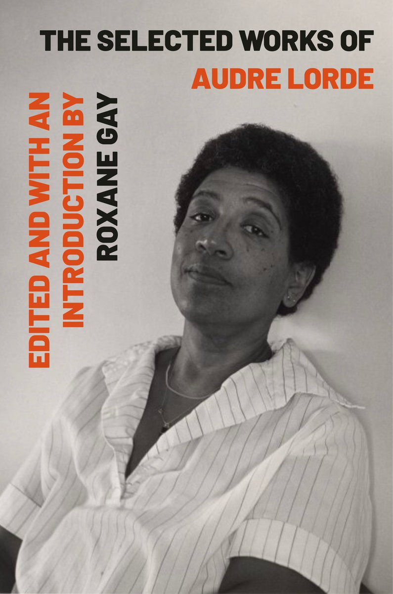 I had the privilege of editing a collection of Audre Lorde'd prose and poetry. Reading through all her work and choosing what to include was both illuminating and challenging. Kirkus gives the volume a starred review and it's out on 9/8/20. kirkusreviews.com/book-reviews/a…