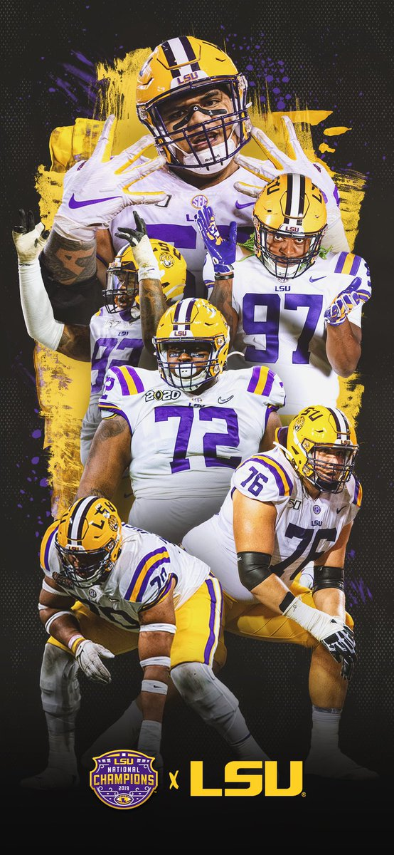 Lsu Football Recruiting On Twitter Big On Big It Starts Up Front Wallpaperwednesday Lsu