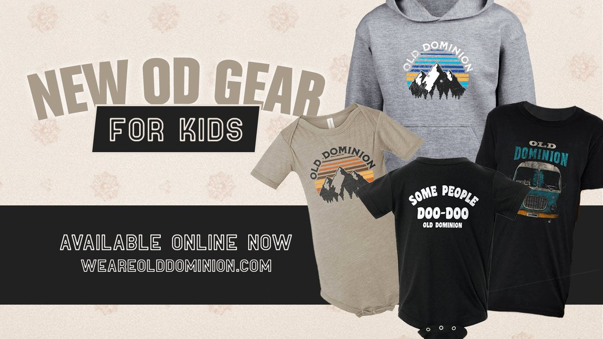 New OD gear for the kids! Check it out in the store. https://t.co/n7xpgVLm24 https://t.co/KTNtTQCVD6