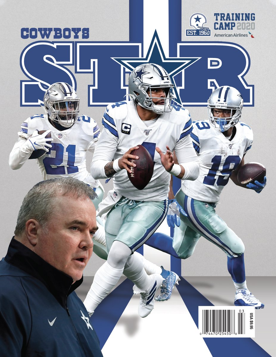 #CowboysNation, get your 2020 @DCStarMagazine Training Camp Preview today! PRINT ISSUE: dcps.co/preview39f45