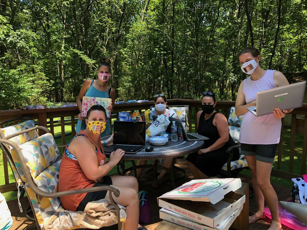 Who said teachers don't work during summer?! ☀️ 🍎 Spent the day creating a fun resource for our students to utilize this fall! #backtoschool #hoffmanhappenings https://t.co/LLCheoL6rI