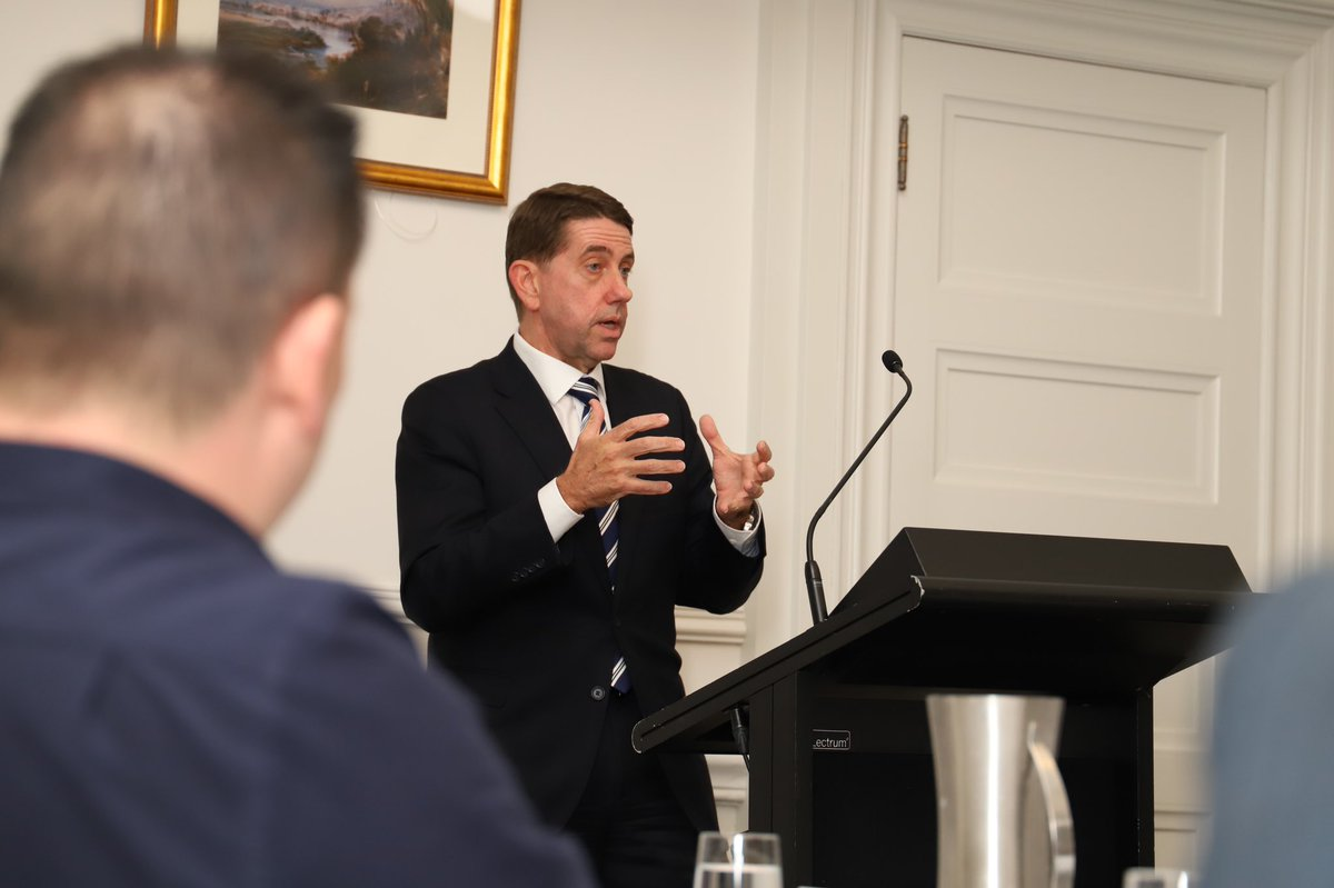 """""""It is a great privilege to serve our communities at such a challenging time,"""" @camerondickqld tells #ROC2020 as he outlines the impact of #COVID19 and the need for the State and councils to keep working together to build infrastructure and create jobs. https://t.co/k5Eevwak8M"""