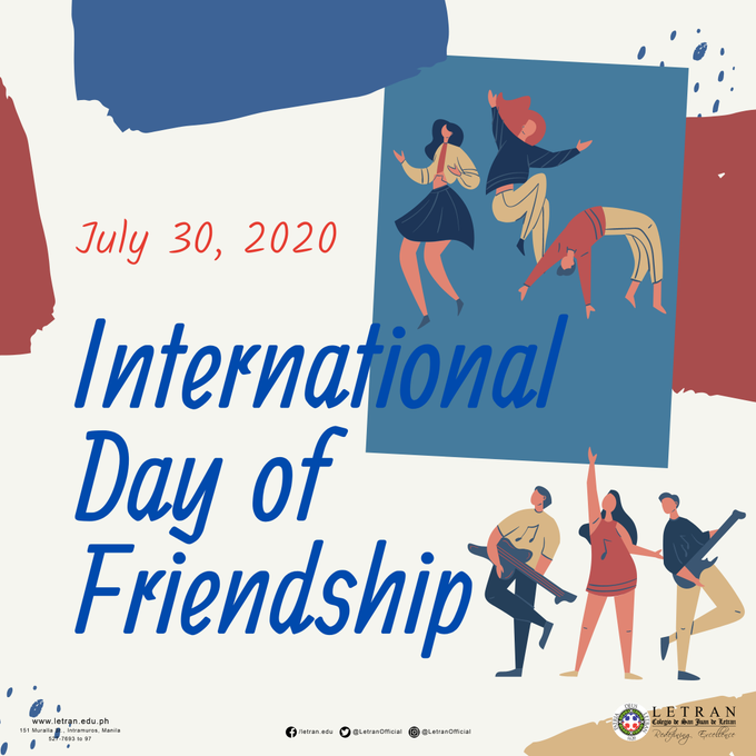 International Friendship Day - 30 July