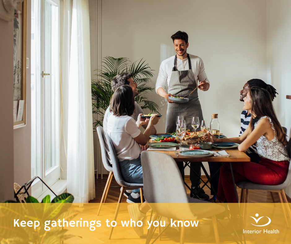 Having a gathering this BC Day Long Weekend? Here is some very good advice to keep everyone safe and healthy! #SocializeSafely #longweekend #augustinehouse #forbetterretirementliving