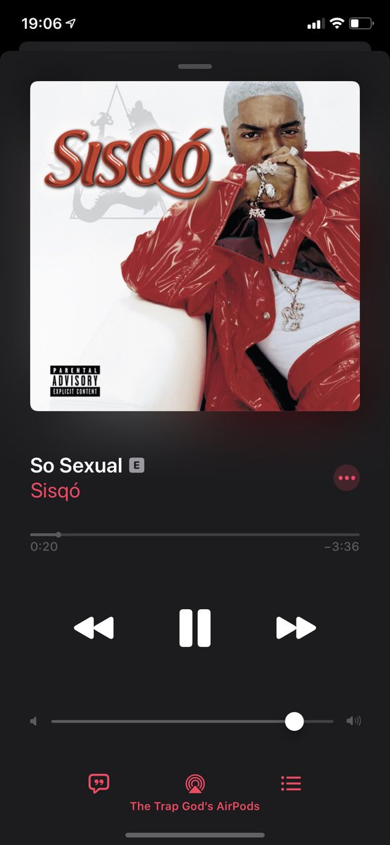 Not for nothing I've been listening to Sisqó all day!!pic.twitter.com/SFcZw7hjdv