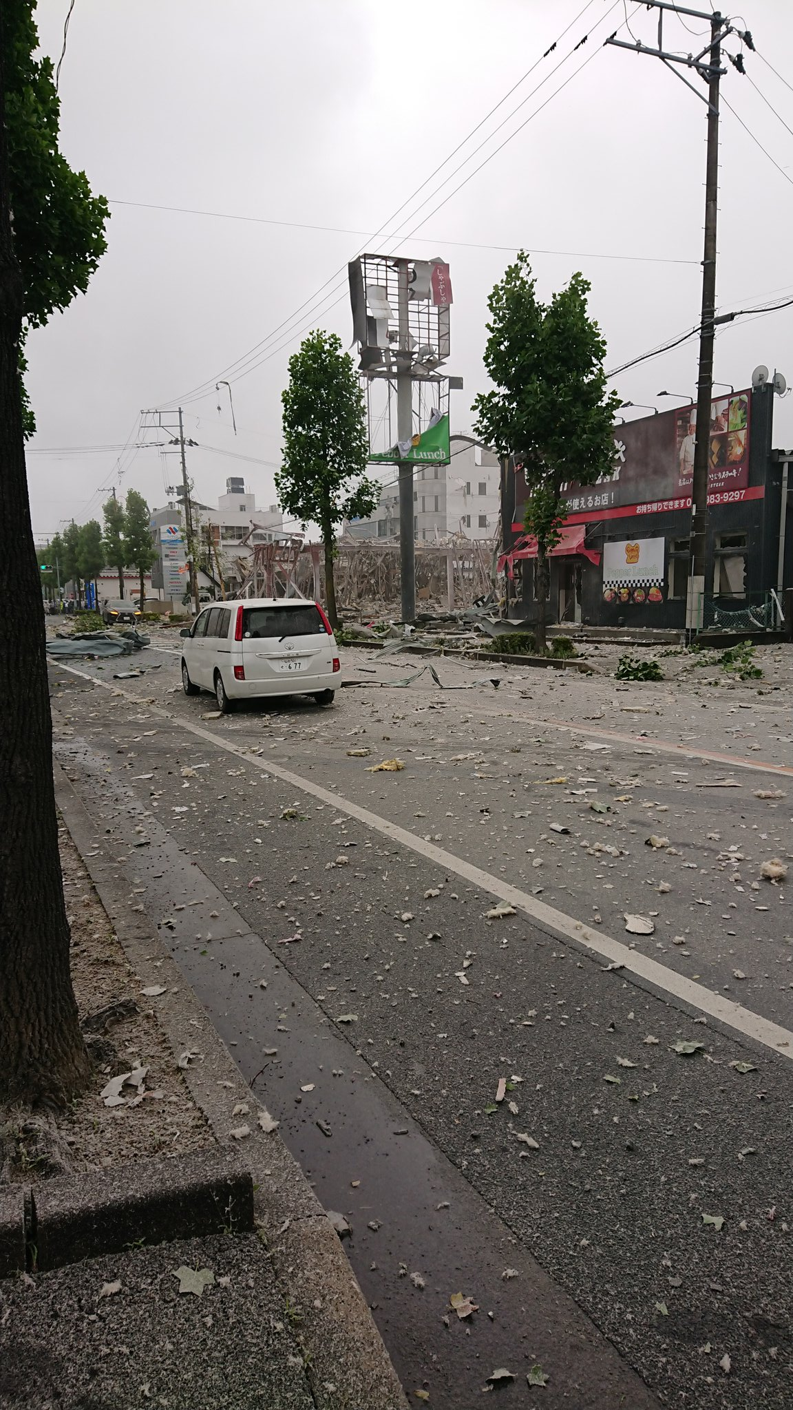 しゃぶしゃぶ温野菜 郡山新さくら通り店の爆発事故の画像