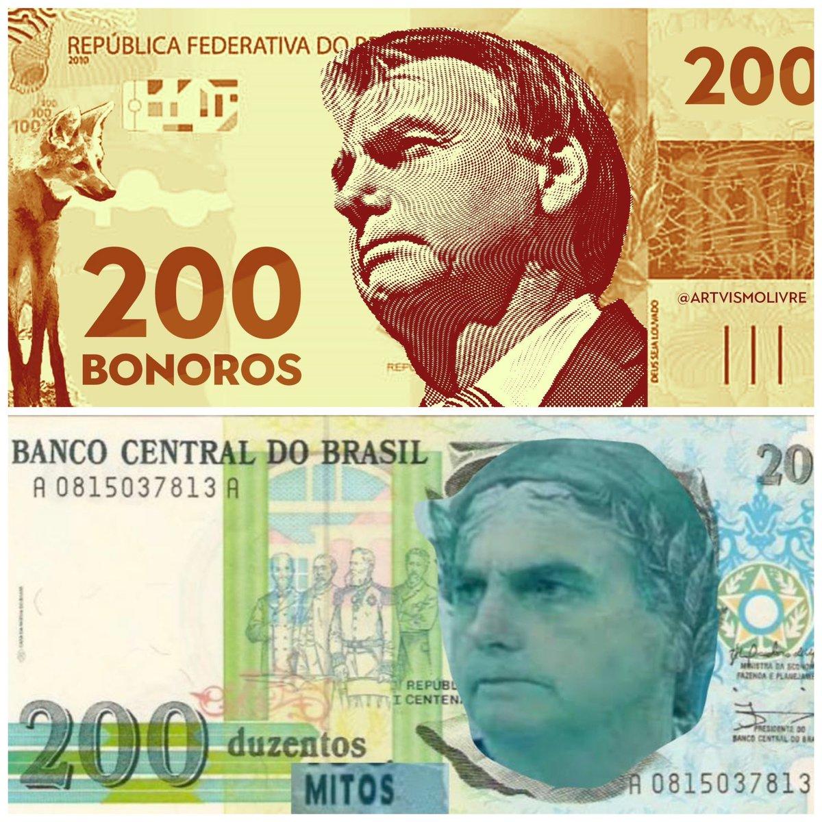 """Renato Barros - Questione-se 🧠 on Twitter: """"Nova nota de 200tão. Qual vc  prefere? 😂😂😂😂… """""""