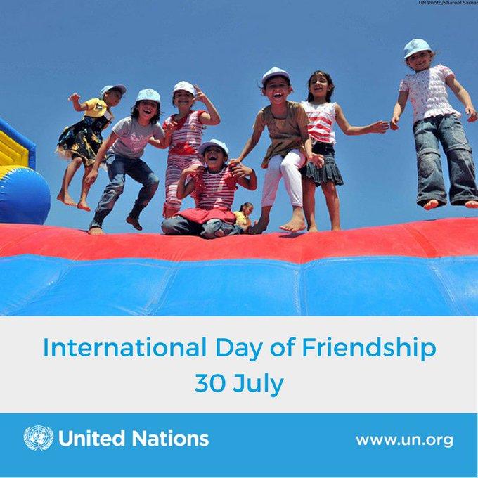 International Friendship Day - 30 July