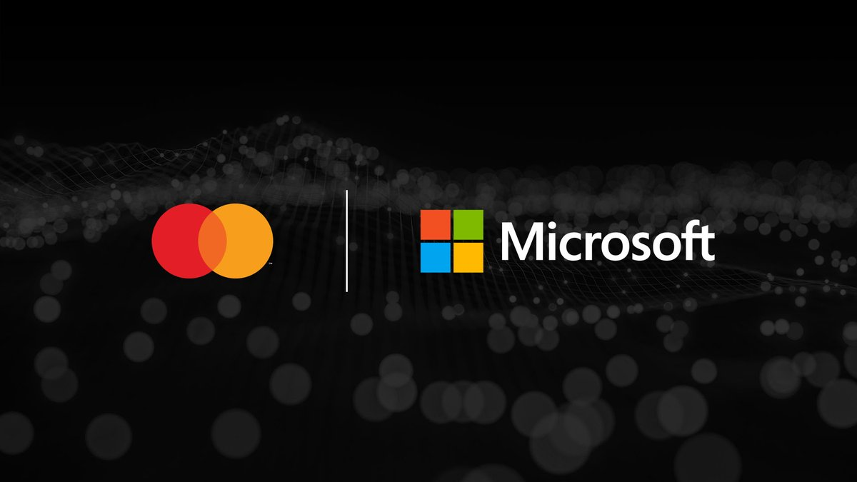 #Mastercard & #Microsoft announced a collaboration to shape the future of #digital commerce, which will accelerate Mastercard Labs' #cloud native research, enabled by #Azure and #AI. With the collaboration Mastercard's partners will benefit from innovations & new #commerce techs. https://t.co/MUOVVkcG7Y