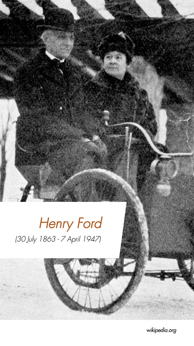 Happy birthday Henry Ford! #AlmalInspiredSpaces #HappyBirthdayHenryFord #HenryFord #FordMotorCompany #Automobile #Inventor #Industrialist #Entrepreneurpic.twitter.com/nySGPTRKxN