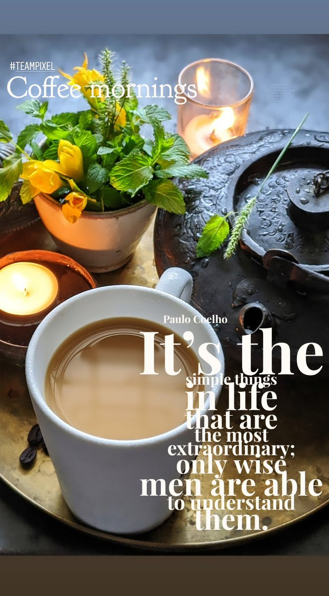 Coffee mornings 🤎 #shotwithpixel3xl #phonephotography #coffeemornings #lovecoffee #madewithkitchenaid #gurgaondiaries #coffee #inspiration #coffeequotes #motivation #morningslikethese #whatidoallday @wordswag @googleindia @pabrecipes @madebygoogle https://t.co/gid53mEp6Z
