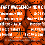 Image for the Tweet beginning: #WholeNewGame @AwesemoNBA GIVEAWAY!  See image