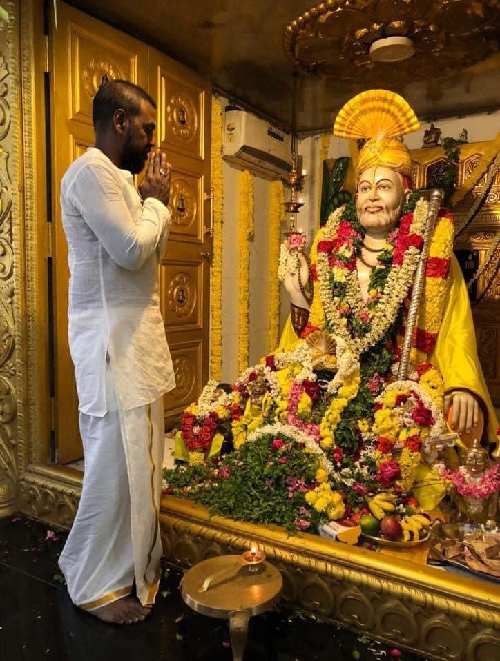 Happy Thursday everyone! I pray Raghavendra swami for all your dreams to come true 🙏