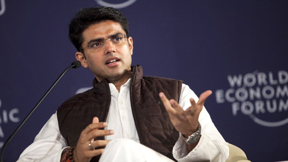 'Expect you to work without prejudice, treat workers with respect', Sachin Pilot tells new RPCC chiefpic.twitter.com/AtWvypUMsq