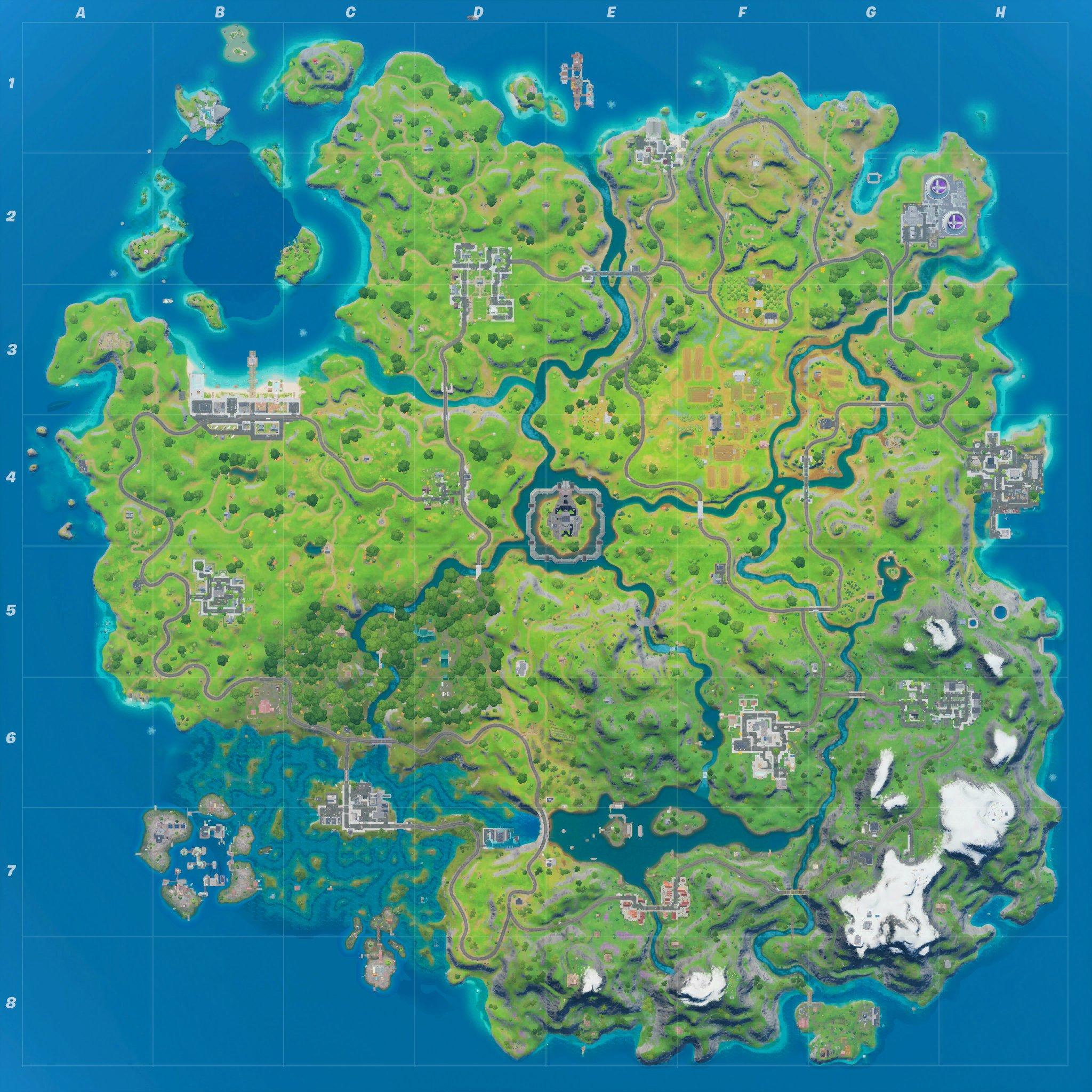 Fortnite penultimate map expansion.