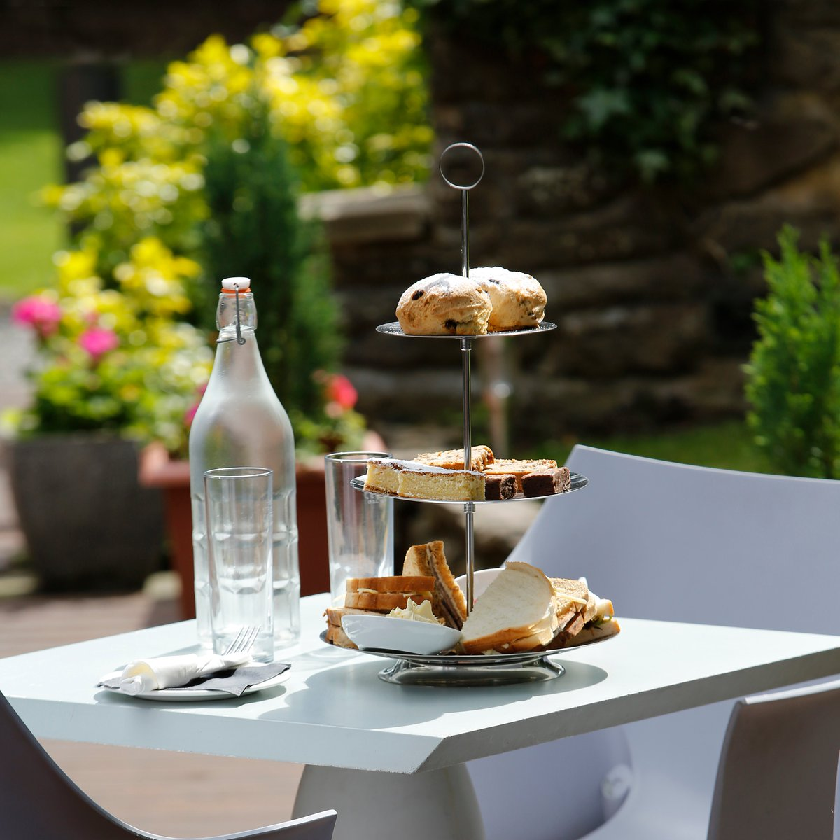 Who doesn't love an Afternoon Tea? 🍰  We are getting ready to open our doors and welcome you back on Saturday 1st August 🎉 https://t.co/vTt5PyeZPV