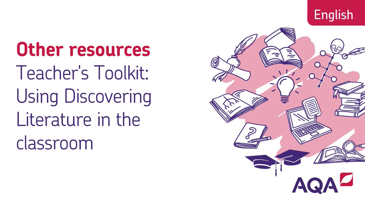 The Discovering Literature website is a great aid for your teaching. Check it out > bit.ly/2WEfQ7O